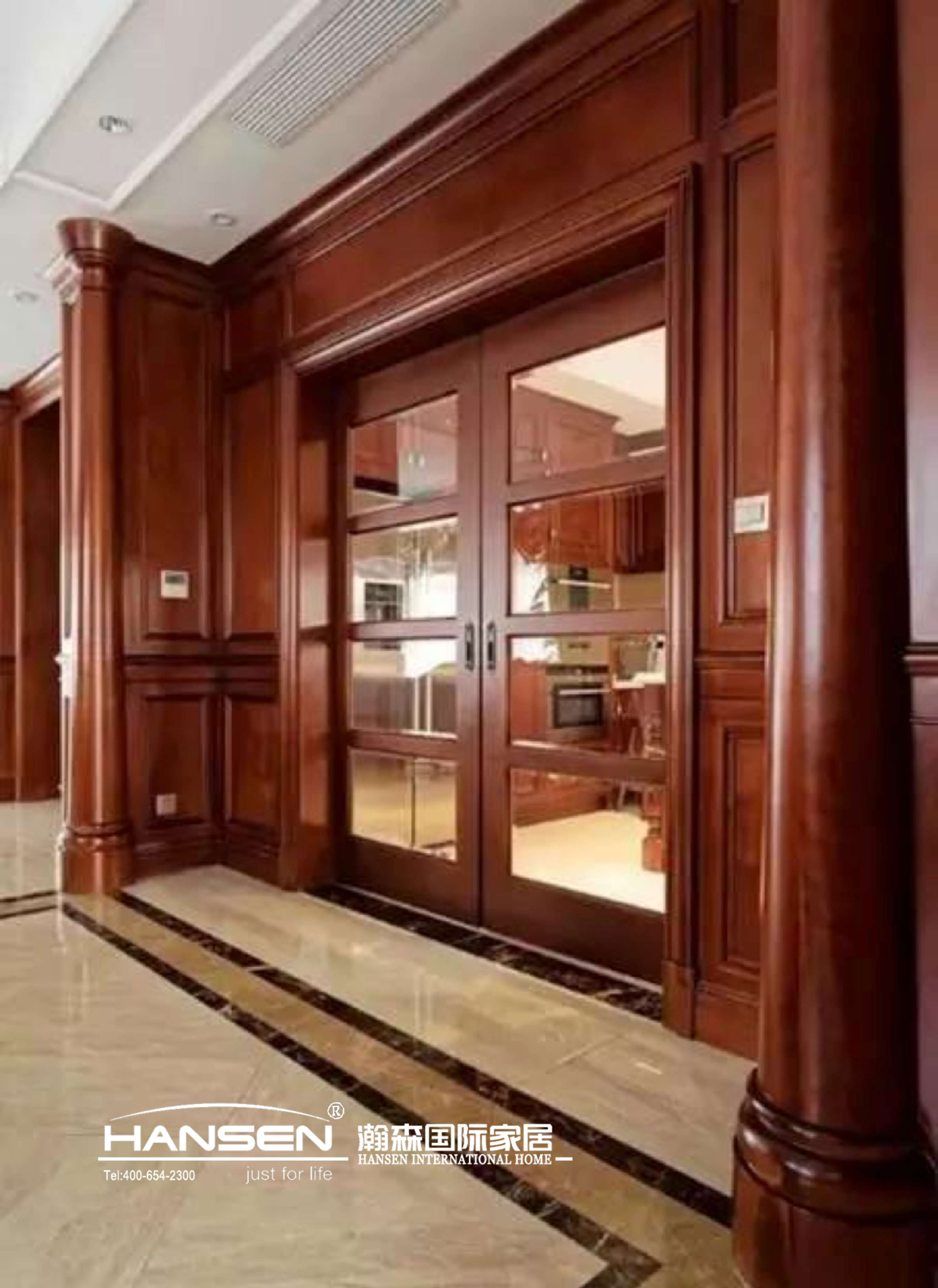 瀚森整木打造家居定制三居室教你逆袭美式风乐高做建筑设计图片