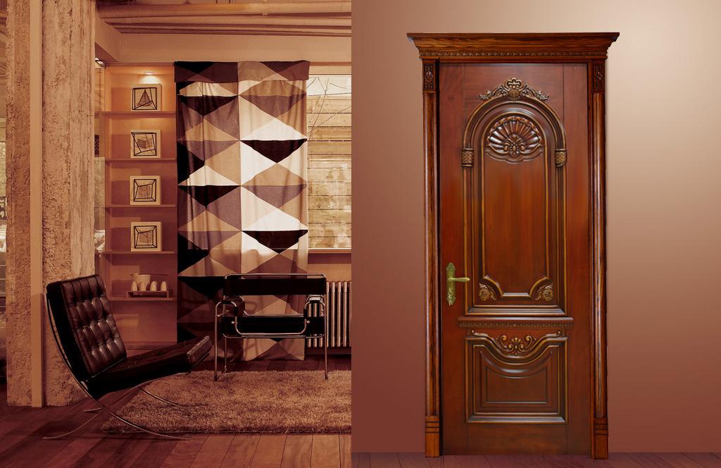 瀚森木門 HANSEN YM020 原木門十大品牌 瀚森木業榮譽出品 品質保證 100%純原木門