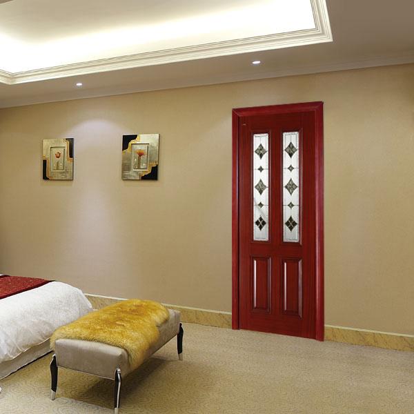 瀚森實木門 SM052-3 100%實木室內門 房間門美式室內門廠家直銷可定制